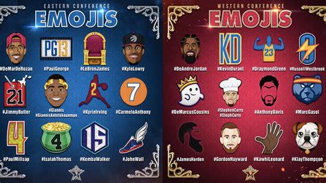 custom nba  star player emojis ranked sbnationcom