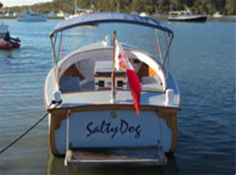 Salty Dog Boat Name mystate australian wooden boat festival 2015
