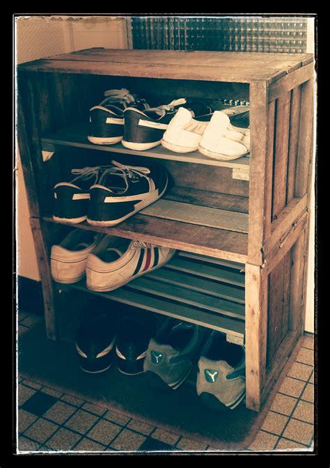 rangement chaussures diy