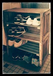 Range Chaussures Bois : un range chaussures diy ralfred 39 s blog deco diy ~ Dode.kayakingforconservation.com Idées de Décoration