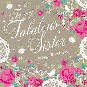 Happy Birthday Sister Quotes Facebook Happy Birthday ...