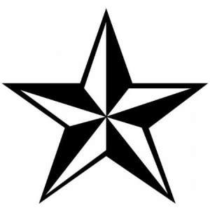 tatouage temporaire etoile nautique motif  school de
