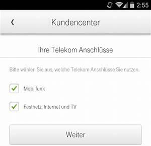 Telekom Rechnung Einsehen : die telekom kundencenter app f r android unterst tzt jetzt auch festnetz kunden ~ Themetempest.com Abrechnung