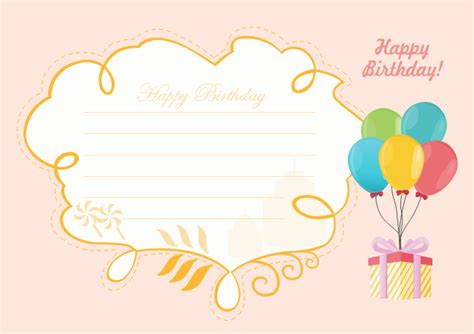 happy birthday card  happy birthday card templates
