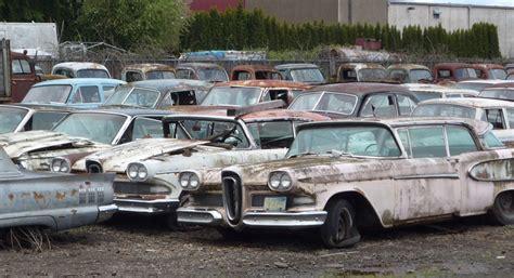 curbside classics graveyard   rust  peace