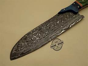 kitchen knives damascus kitchen knife custom handmade damascus steel kitchen