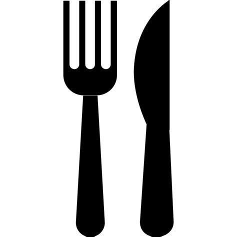 fork and knife clipart black and white fork clip synkee cliparting