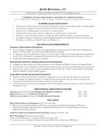 former career change resume career change