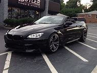 2015 BMW M6 Convertible Black