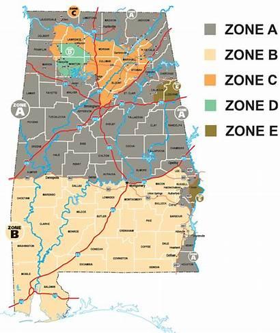 Deer Season Alabama Hunting Map Zone 2021