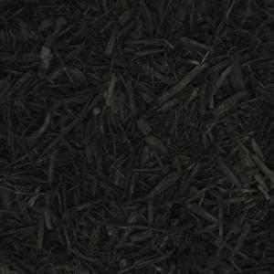 cu yd black landscape bulk mulch bkdmb  home depot