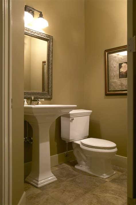 powder room country walkout traditional powder room calgary by
