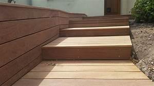 Escalier Extérieur En Bois : habillage bois d 39 un escalier ma onn loire eco bois ~ Dailycaller-alerts.com Idées de Décoration