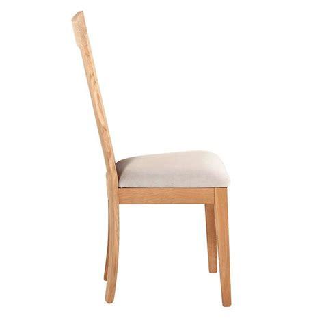 chaises 4 pieds chaise en bois et tissu rembourré crocus 4 pieds