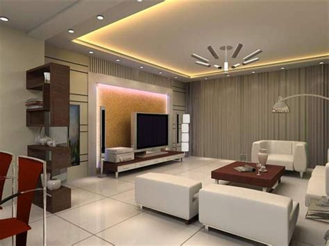 gypsum design in sitting room kitchen andbedroom home combo