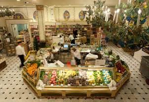 Food Hall Harrods Department Store