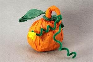 14, Diy, Paper, Pumpkin, Craft, Ideas