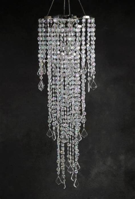 chandelier 3 tier led battery operated 42in the