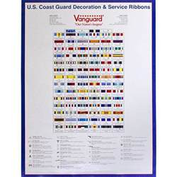 Military Awards And Decorations Rack Builder by Coast Guard Decoration Amp Service Ribbon Poster Usamm