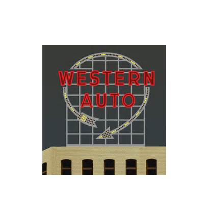 Western 2481 Miller Signs Animated Billboard Sign