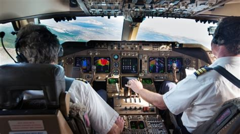pilots and the around and flying a plane