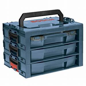 Shop Bosch 17 25-in 3-Drawer Blue Plastic Tool Box at