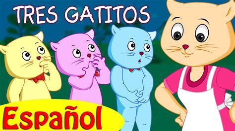 Tres Gatitos  Canciones Infantiles En Español  Chuchu Tv