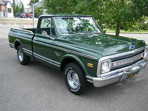 1970 CHEVROLET C-10 FLEETSIDE SHORTBOX PICKUP - 112751