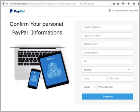 paypal fraud department phone number breaking new paypal scam leverages mailchimp brand and url