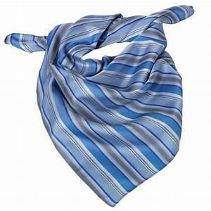 Gris Et Bleu : foulard femme rayures bleu et gris lavable ~ Dode.kayakingforconservation.com Idées de Décoration