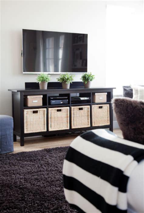 ikea hemnes sofa table   media stand living room