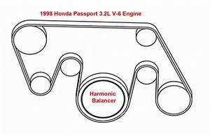 1998 Honda Passport 3 2l V