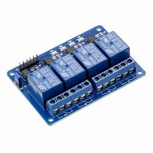 5V 4 Channel Relay Module 10A Australia