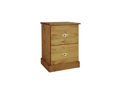 Buckingham Solid Pine Filing Cabinet  Khiam Interiors