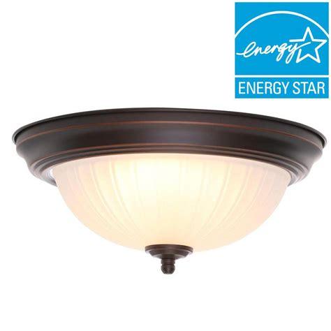 led oil rubbed bronze flush mount ceiling light fixtures