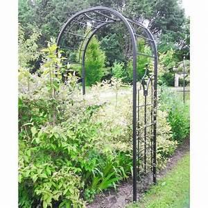 Arche De Jardin En Fer Forgé : arche princess arche fleurs rosiers tuteur plantes de ~ Premium-room.com Idées de Décoration