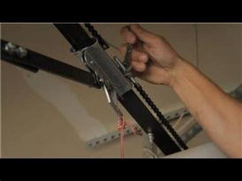 garage door installation garage door help how to adjust the chain on a garage