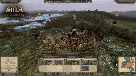 total war attila expansion enters  age  charlemagne