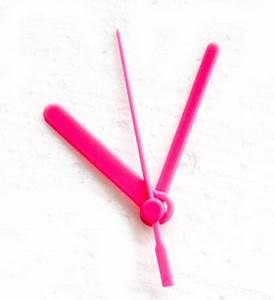Uhrwerk Mit Zeiger Zum Basteln : uhrwerk mit kunststoff zeiger 55 mm rosa kreativzauber ~ Eleganceandgraceweddings.com Haus und Dekorationen