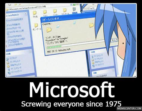 Microsoft Memes - microsoft by mellychan meme center