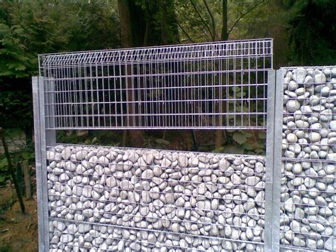cloture en gabion amenagement en gabions