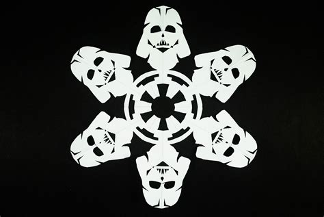 star wars snowflake how to make wars snowflakes 10 steps with pictures