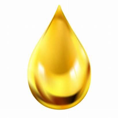 Drop Gold Oil Drops Vector Material Clipart