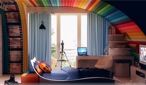 21 Awesome Ideas Adding Rainbow Colors To Your Home Décor