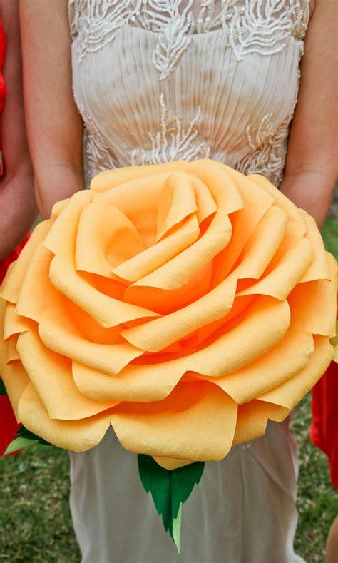 giant paper rose bouquet alternative diy paper roses