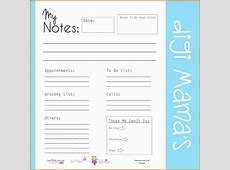 8+ free daily planner template Authorization Letter