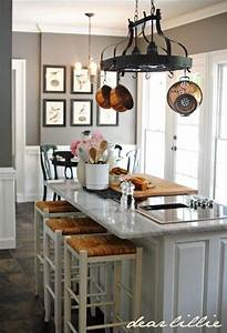 Benjamin moore chelsea gray i like the grey paint and for Kitchen colors with white cabinets with lilly pulitzer wall art