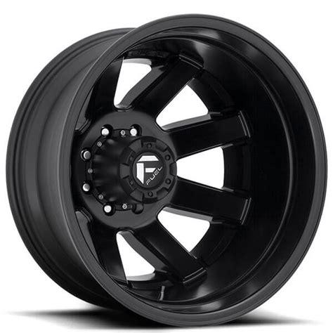 fuel wheels  maverick dually matte black  road