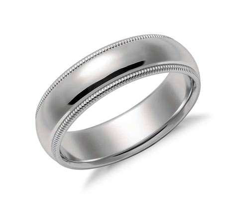 2019 latest tiffany wedding bands for men