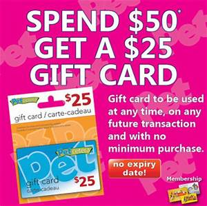 Petcetera Canada Offers: Spend $50 and Get a $25 Gift Card ...
